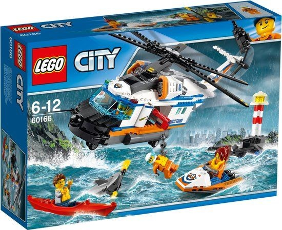 60166 Lego City Zware Reddingshelikopter