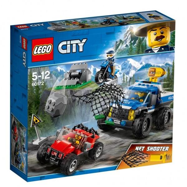 Lego City Modderweg achtervolging - 60172