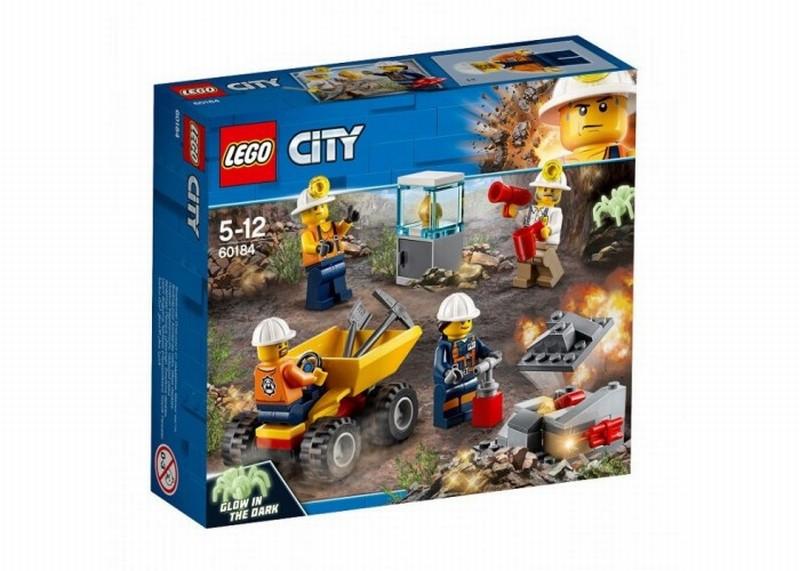 60184 Lego City Mijnbouw team