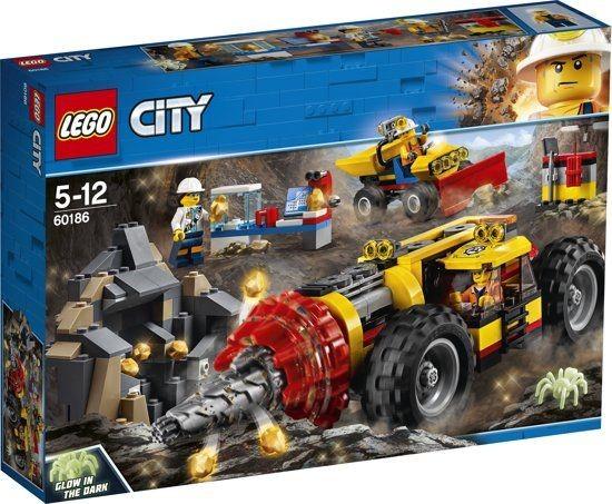 60186 Lego City Zware Mijnbouwboor