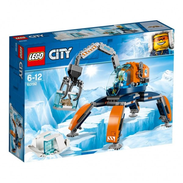 60192 Lego City Pool Ijscrawler