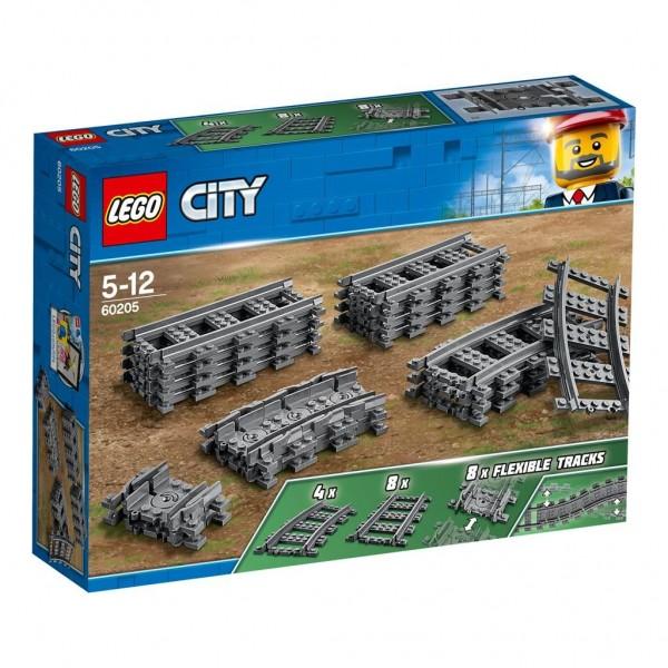 60205 Lego City Treinrails