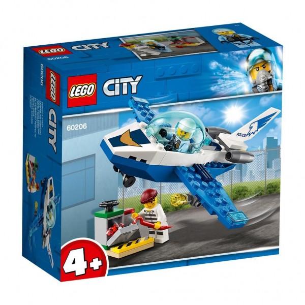 60206 Lego City Luchtpolitie Vliegtuigpatrouille