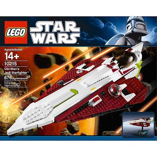Lees Meer... : 10215 Lego Star Wars Obi Wan`s Jedi Starfighter