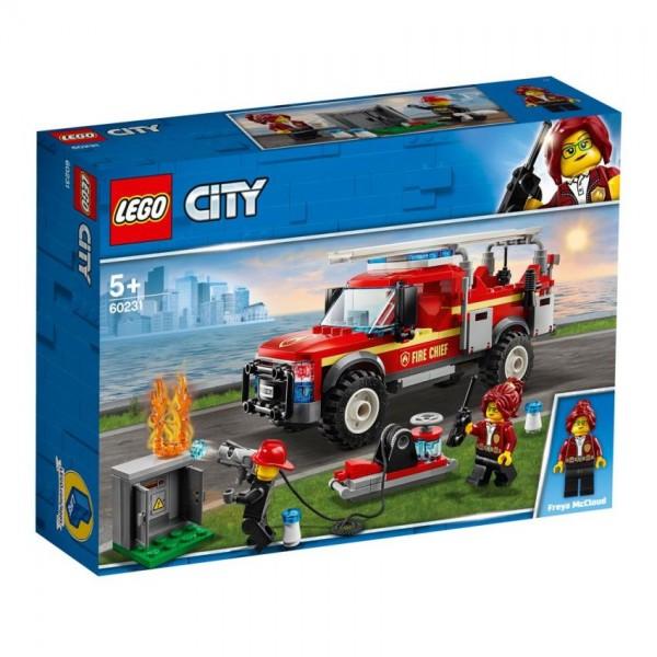 60231 Lego City Reddingswagen Brandweer
