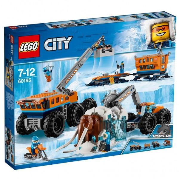 60195 Lego City Mobiele Onderzoeksbasis Op De Noordpool