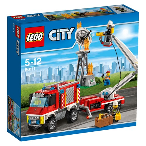 60111 Lego City Brandweer hulpvoertuig