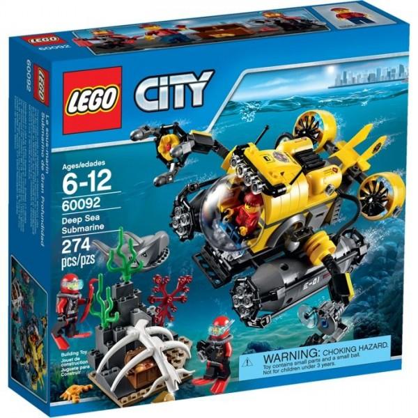 60092 Lego City Diepzee Duikboot