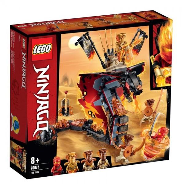 70674 Lego Ninjago Vuurtand