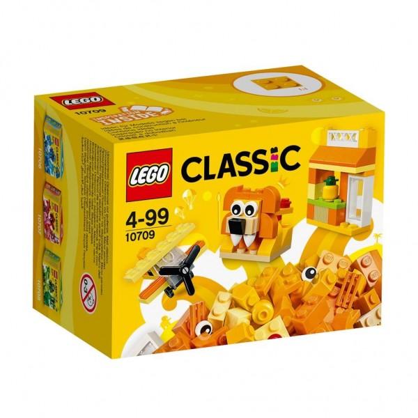10709 Lego Classic Oranje Creatieve Doos