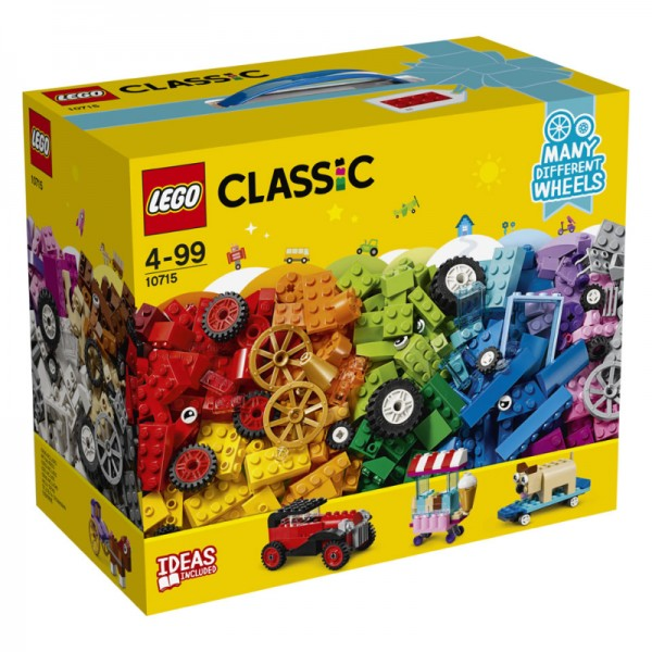 10715 Lego Classic Stenen En Wielen