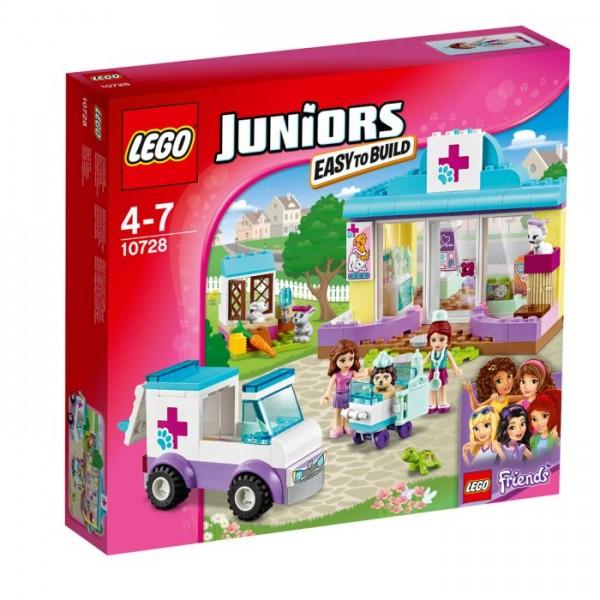 10728 Lego Juniors Mia's Dierenkliniek