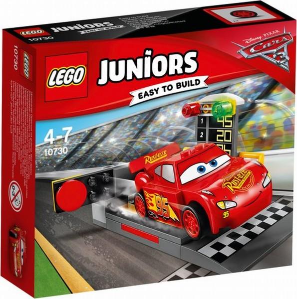 10730 Lego Juniors Cars 3 Bliksem McQueen Snelle Lanceerder