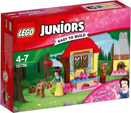 10738 Lego Juniors Sneeuwwitjes Boshut