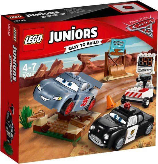 10742 Lego Junior Cars 3 Willy's Butte Snelheidstraining