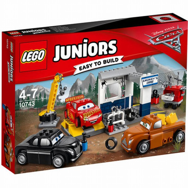10743 Lego Juniors Cars Smokey