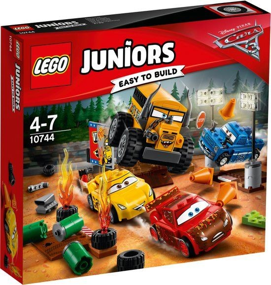 10744 Lego Juniors Cars 3 Thunder Hollow Crazy 8 Race
