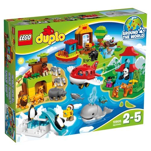 10805 Lego Duplo rond de wereld