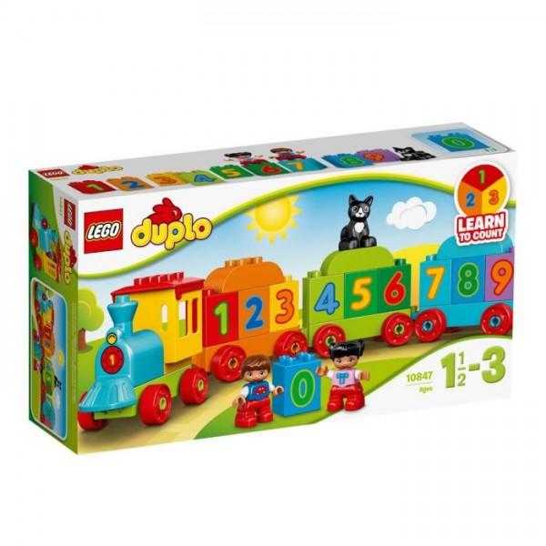 10847 Lego Duplo - Mijn Eerste Getallentrein