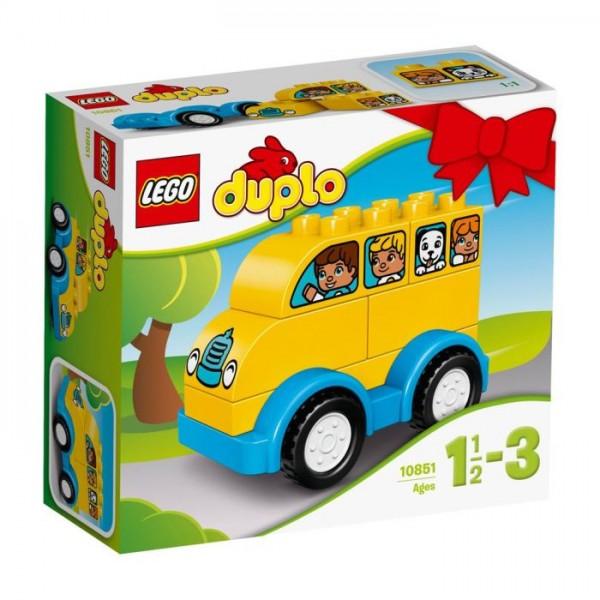 10851 Lego Duplo - Mijn Eerste Bus