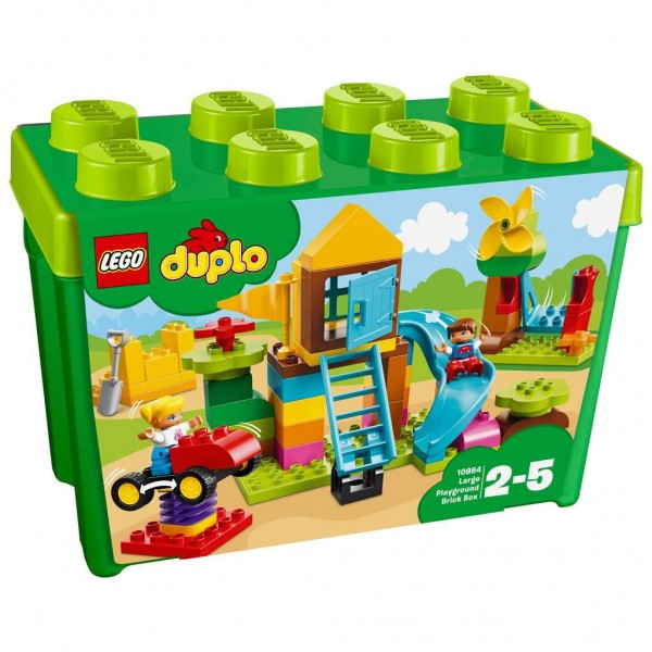 10864 Lego Duplo My First Grote Speeltuin - Opbergdoos