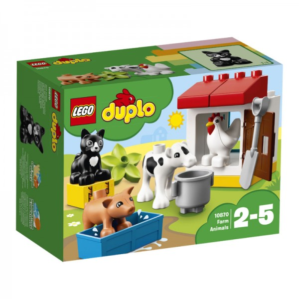 10870 Lego Duplo Boerderijdieren