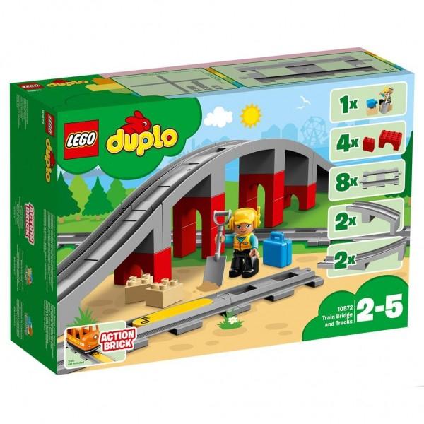 10872 Lego Duplo Treinbrug En Rails