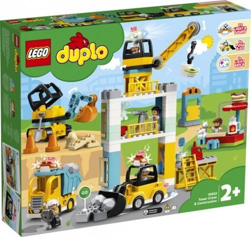 70933 Lego Duplo Torenkraan met Bouwterrein