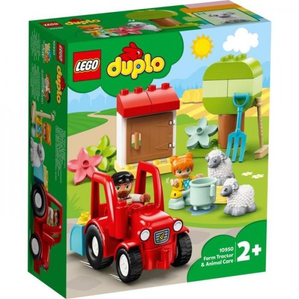10950 LEGO DUPLO Landbouwtractor En Dieren