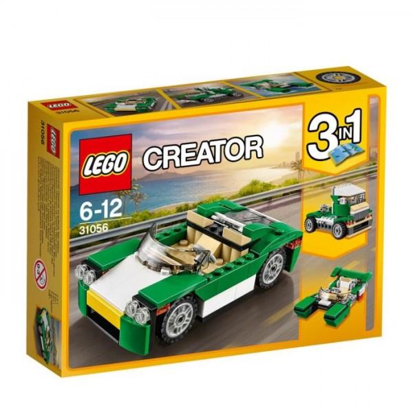 31056 Lego Creator - Groene Sportwagen