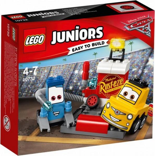 10732 Lego Junior Cars 3 Guido En Luigi's Pitstop