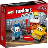 10732 Lego Junior Cars 3 Guido En Luigi's Pitstop