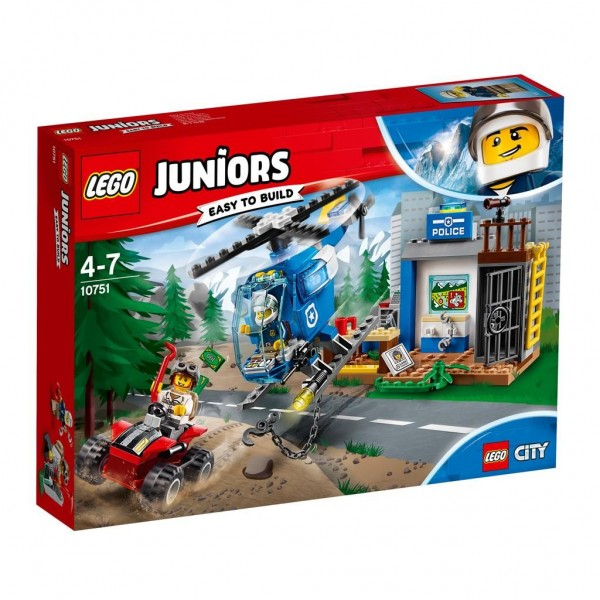 10751 Lego Juniors Politieachtervolging