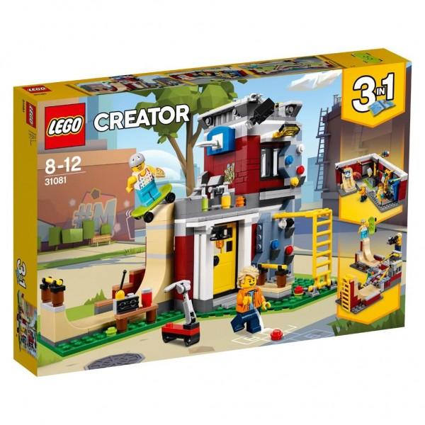 31081 Lego Creator Modulair Skatehuis