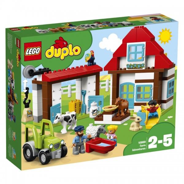 10869 Lego Duplo Avonturen Op De Boerderij