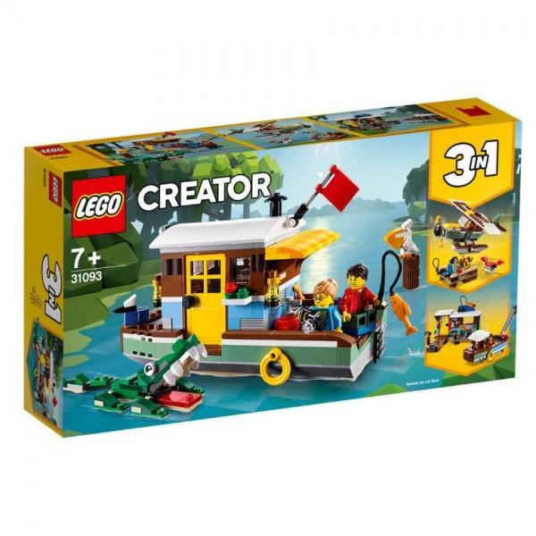 31093 Lego Creator Riverside Houseboat
