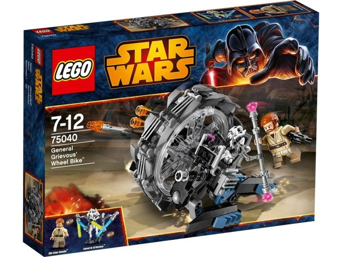 75040 Lego Star Wars General Grievous Wheel Bike Lego