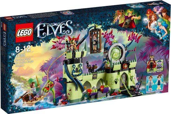 41188 Lego Elves Ontsnapping Uit Fort Van Goblinkoning