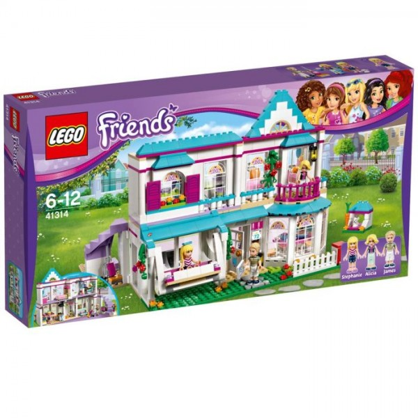 41314 Lego Friends Stephanies Huis