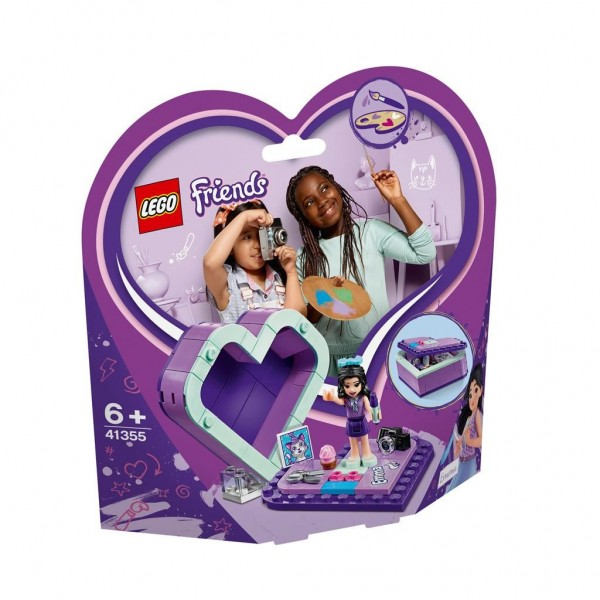 41355 Lego Friends Emma's Heart Box