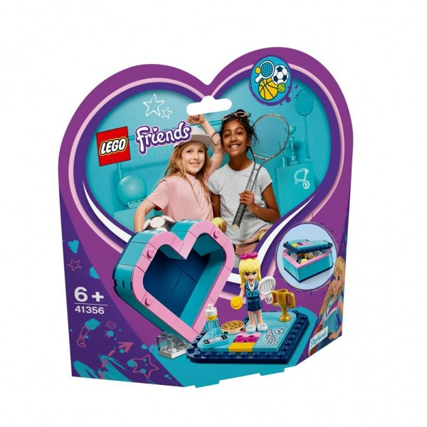 41356 Lego Friends Stephanie's Heart Box