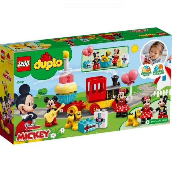 10941 Lego Duplo Mickey en Minnie Verjaardagstrein