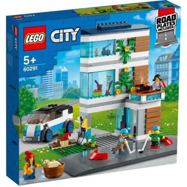 60291 LEGO City Modern Family House