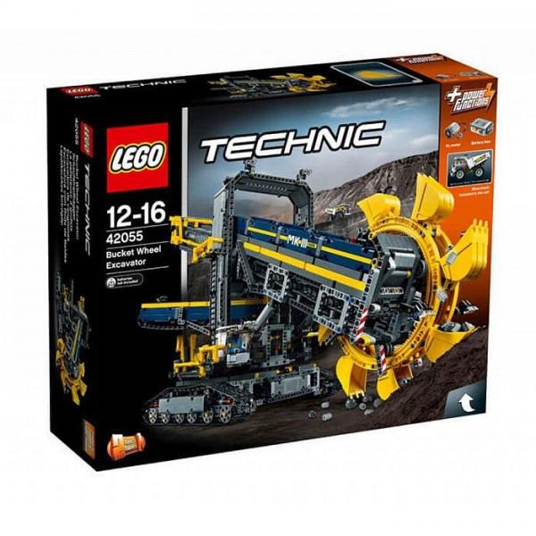 42055 Lego Technic Emmerwiel Graafmachine