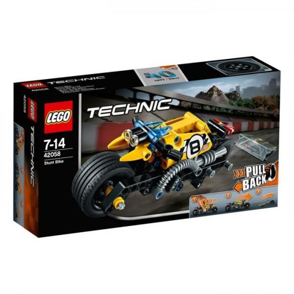 42058 Lego Technic - Stuntmotor