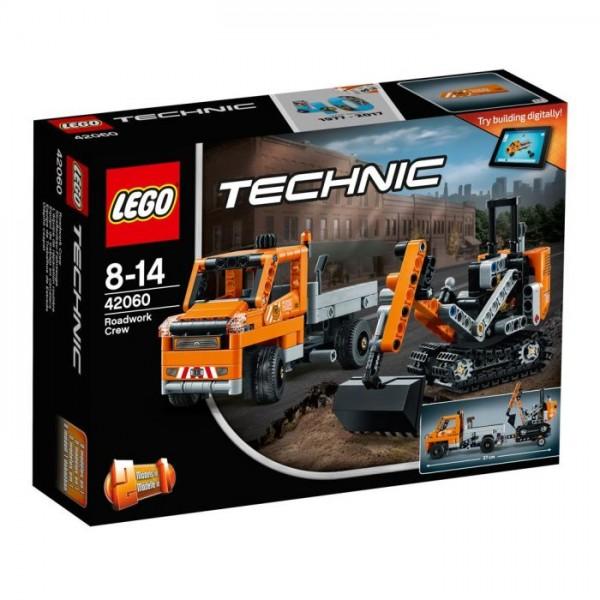 42060 Lego Technic – Wegenbouwploeg