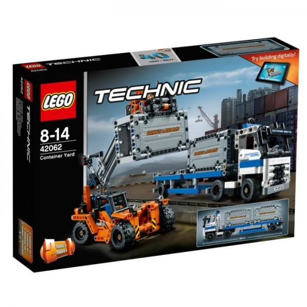 42062 Lego Technic - Containertransport