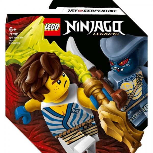 Lego Ninjago 71732 Epic Battle set Jay Vs. Serpentine