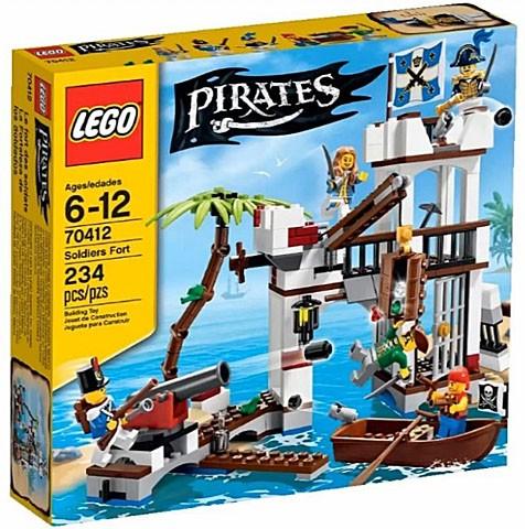70412 Lego Piraat Het Soldatenfort Lego