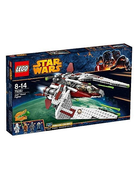75051 Lego Star Wars Jedi Scout fighter Lego
